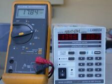 Lambda Lls5018 Programmable Voltage Supply Good Working Amp Calibrated