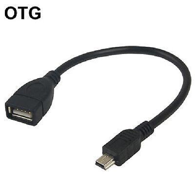 Marca Popular Cable Mini Usb Vers Usb Femelle Otg Pour Autoradios Ou Appareils Avec Mini Usb