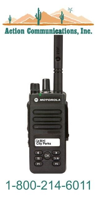 NEW MOTOROLA XPR 3500 - VHF 136-174 MHZ, 5 WATT, 128 CHANNEL TWO WAY RADIO