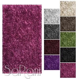 Tappeto-Moderno-Shaggy-Varie-Dimensioni-e-Colori-Soggiorno-Scendiletto-SARANI