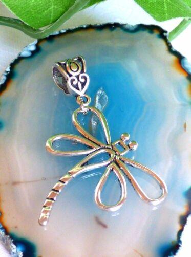 hübscher Anhänger Libelle für Kette  Kettenanhänger Metall Silber Geschenk
