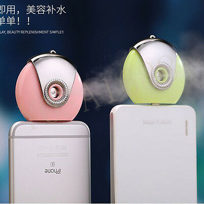 Mini phone Humidifier Aromatherapy essential oil diffuser and Mist Maker Fogger