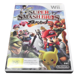 Super Smash Bros Brawl Nintendo Wii PAL * completo *