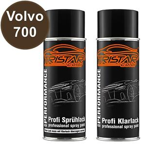 Autolack-Spraydosen-Set-Volvo-700-Twilight-Bronze-Metallic-Basislack-Klarlack