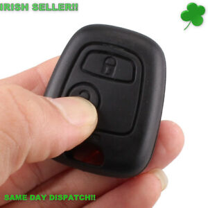 PEUGEOT-107-207-307-407-106-206-306-406-2-BUTTON-REMOTE-KEY-FOB-CASE-SHELL-COVER