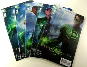 DC-GREEN-LANTERN-2011-1-Movie-PREQUEL-LOT-Ryan-REYNOLDS-VF-NM-Ships-FREE