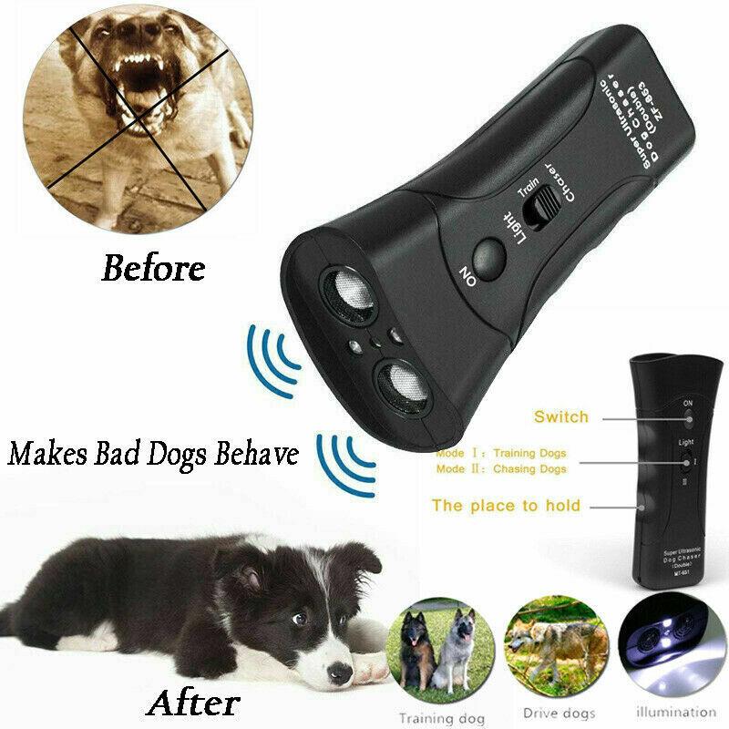 Ultrasonic Dog Training Remote Control  Pet Supplies / Dogs Train New 3