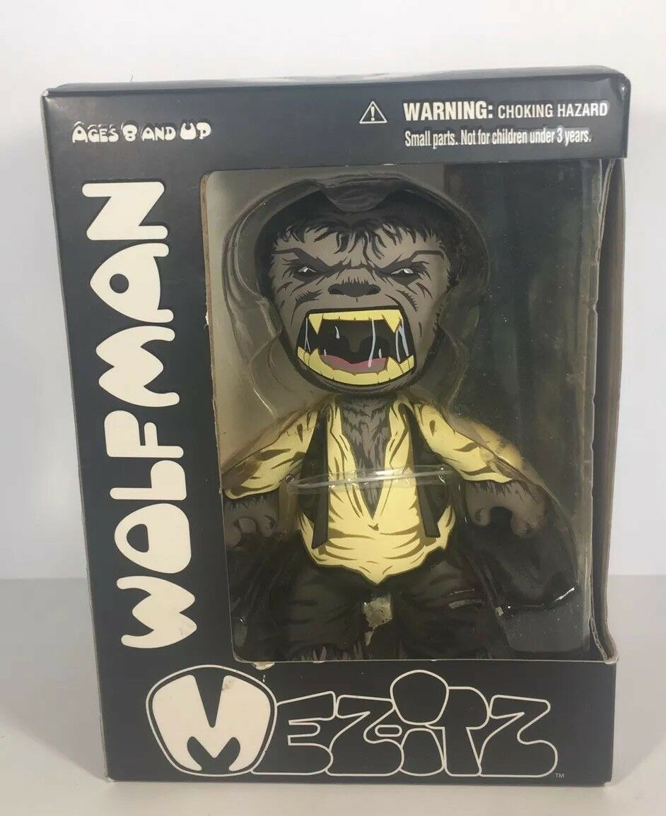 Mezco The Wolfman Mez-It Mez-It Mez-It Figure. Diamond Comics Distributors. Universal Studios 27858c