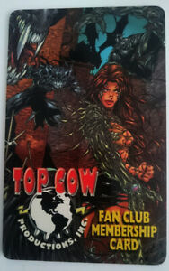 US-TOP-COW-MEMBERSHIP-CARD-DYNAMIC-FORCES-DF-WITCHBLADE-MICHAEL-TURNER-ASPEN-NEW