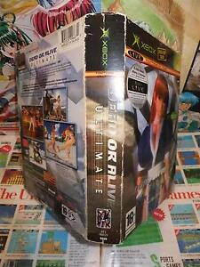 XBox-Dead-or-Alive-Ultimate-Edition-Collector-TOP-TECMO-COMPLET-Fr