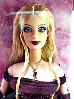 Mattel 2002 Barbie Birthstone Series January Garnet Ce 11 Doll Figure