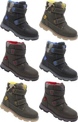 BL Jungen Schuhe Kinder Winter Stiefel Boots warm gefüttert Gr 25-30 Nr 53