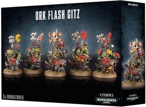Ork Flash Gitz Warhammer 40K NIB