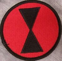 Embroidered Military Patch U S Army 7th Infantry Division
