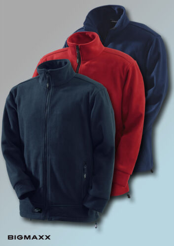 KORSAR Fleecejacke Energy Arbeitsjacke Outdoorjacke in schwarz rot navy XS - 5XL
