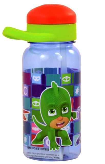 7b4ceabd50 PJ Masks 14oz Twist Top Water Bottle Owlette Gekko Catboy Gift for ...