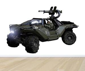 halo 4 warthog decal removable wall sticker home decor art