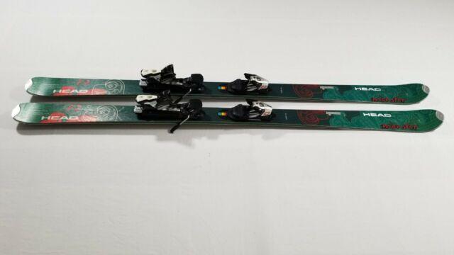 Head Monster Skis 172 Cm with Salomon Z10 Bindings