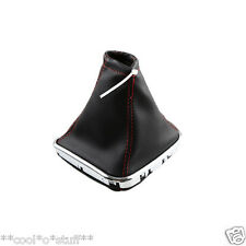 117- CZR Cruze Chevrolet Gear Knob Cover Boot Leather with Chrome Bottom Trim