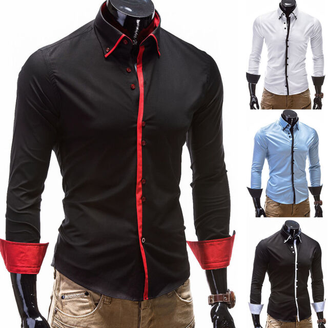 BEHYPE Herren Hemd Polo Shirt Slim versch. Farben/Modelle Schwarz/Weiß/Blau NEU