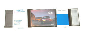 1997-Volvo-850-Factory-Original-Owners-Manual-Portfolio-2