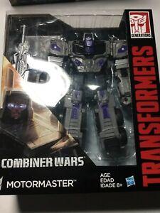 Transformers Combiner Wars Motormaster Misb