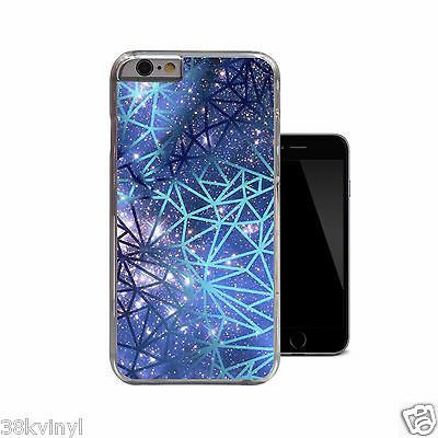 Geometric Nebula Geo Galaxy Space Stars Case Cover For iPhone 4 4s 5 5s 5c 6