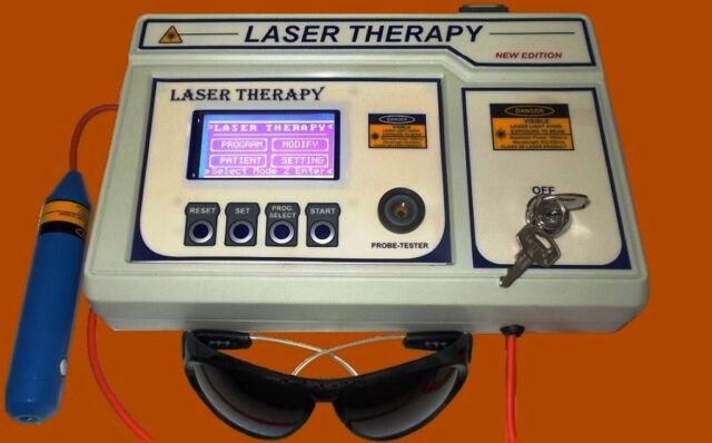 Low Level Laser Therapy Therapeutic Laser 60 programme for Physiotherapy Machine