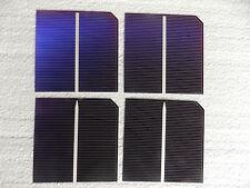 Mono Solar Cells,19%, 1.15 watt,.51 volt, 10 3x3 cells Great cut cells.