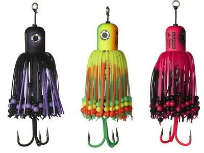 D.A.M Madcat A-Static Clonk Teasers 100g Spinnerbait with beads Catfish COLOURS