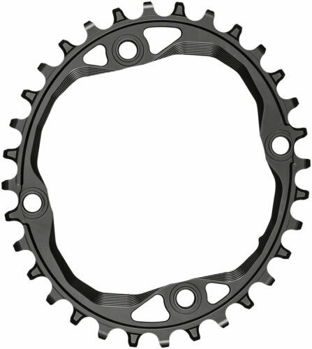 absoluteBLACK Oval 104 BCD Chainring 32t 104 BCD 4-Bolt Requires