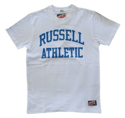 Analitico T-shirt Russell Athletic Junior Bianca Ricco Di Splendore Poetico E Pittorico