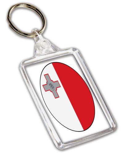 Malta Maltese Flag Keyring Birthday Gift Christmas Stocking Filler