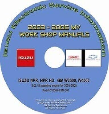 2005 w4500 wiring diagram 2003 2005 isuzu npr npr hd gmc chevy w3500 w4500 truck w 6 0l gas  2003 2005 isuzu npr npr hd gmc chevy