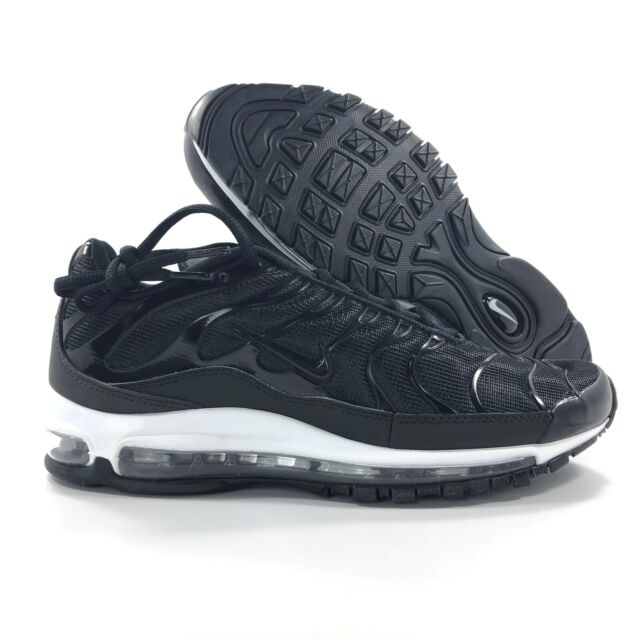 buy popular 7a11e 0cc87 Nike Air Max 97 Plus Black Anthracite White AH8144-001 Men's 9.5-11.5