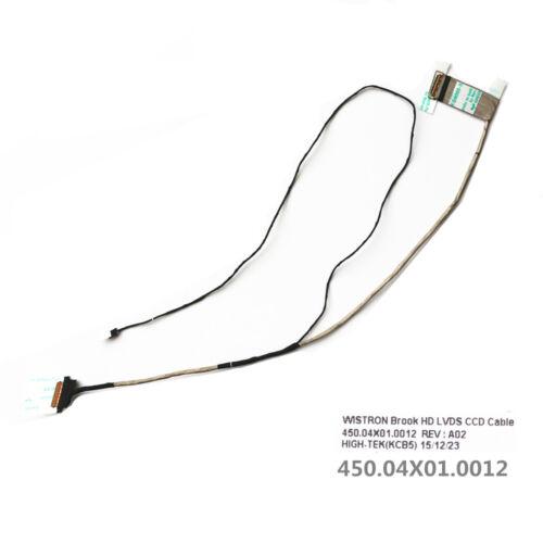 New Acer Aspire E5-722 E5-772G E5-773 E5-773G Lcd Lvds Cable 450.04X01.0012