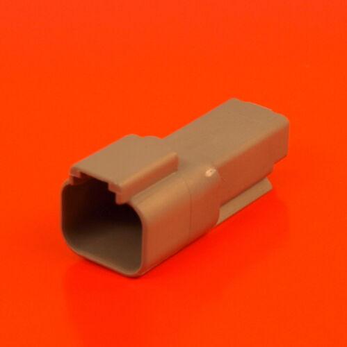 Deutsch DT Series 2 Way Socket Connector Kit DT04-2P Pins /& Wedglock DT 04 2P