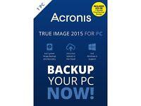Acronis True Image with Cloud Storage
