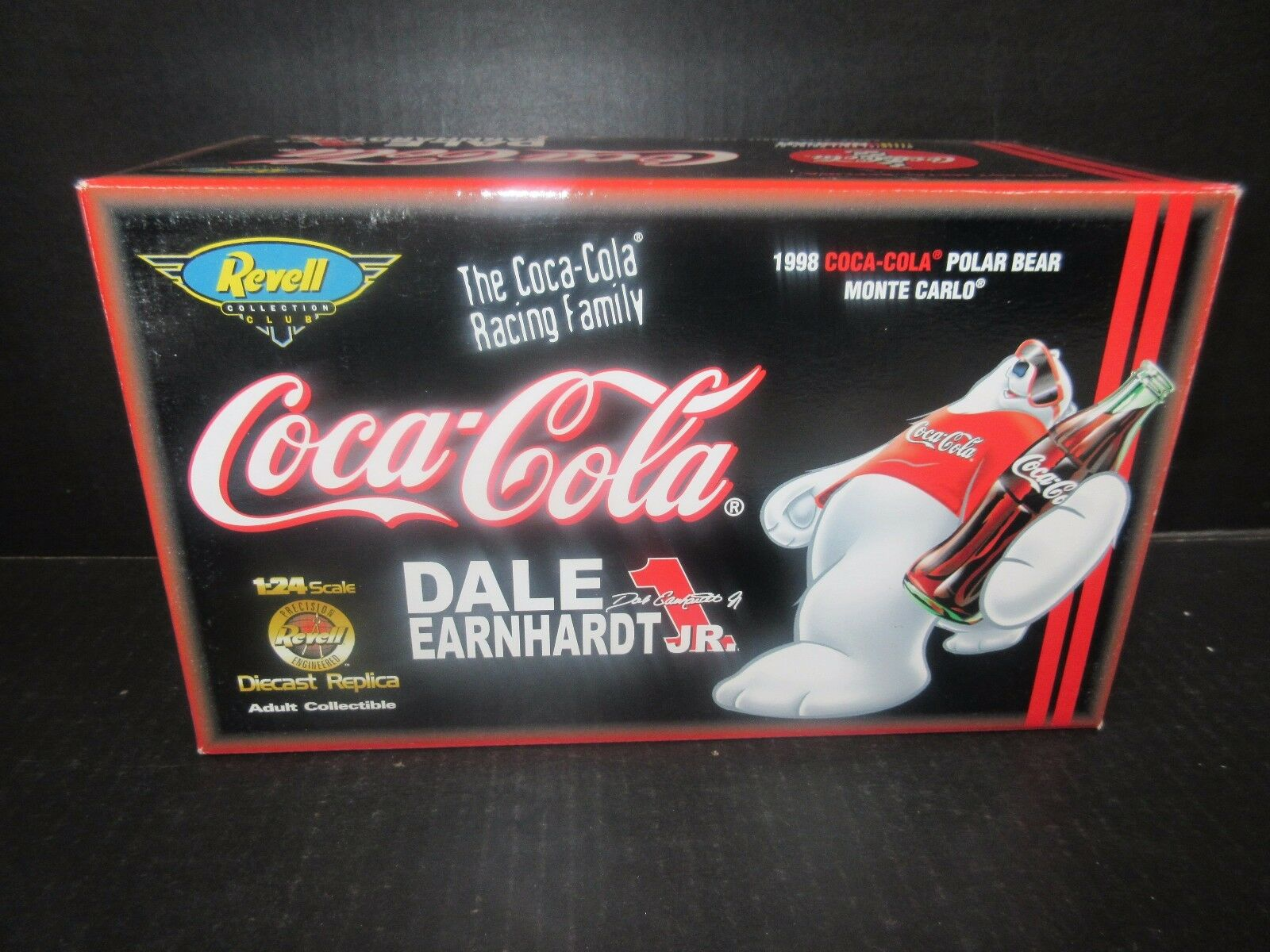 1998 REVELL Coca Cola Ours Polaire  1 Dale Earnhardt Jr 1 24th échelle voiture de course