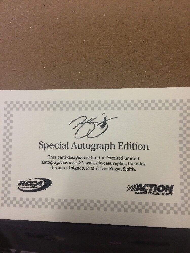 Nascar diecast 1 1 1 24 Regan Smith Autographed Napa 2014 f9c0cb