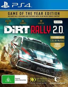 DiRT Rally 2.0 Game of the Year Edition PS4 Game NEW
