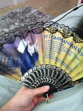 Beautiful Lace Church Fans Various Patterns with Bible Verses - New