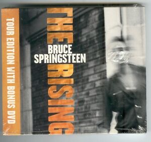 BRUCE-SPRINGSTEEN-The-Rising-Limited-Tour-Edition-2003-amp-Bonus-DVD-NEU-amp-OVP