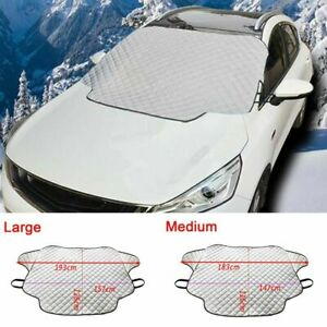 Magnetic-Car-Windshield-Ice-Snow-amp-Frost-Cover-Guard-Sun-Shade-Protector-Auto