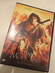 Dvd-El-ultimo-mohicano-con-daniel-day-lewis
