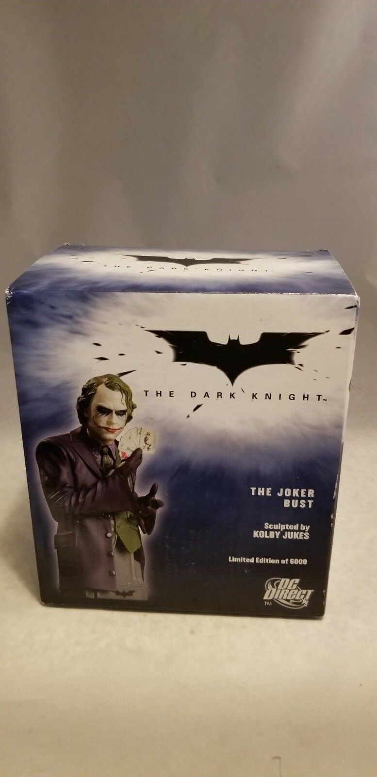 DC DIRECT THE DARK KNIGHT THE JOKER BUST (SEALED)