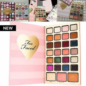Too Faced Boss Lady Beauty Agenda 2018 Christmas 27 Colors Holiday ...