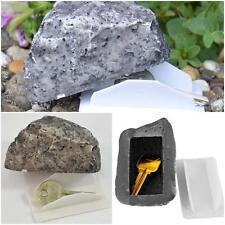 Yard Garden Outdoor Rock Stone Hide a Key Hider Storage