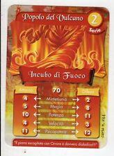 figurina - CARD GORMITI - SERIE 2 INCUBO DI FUOCO