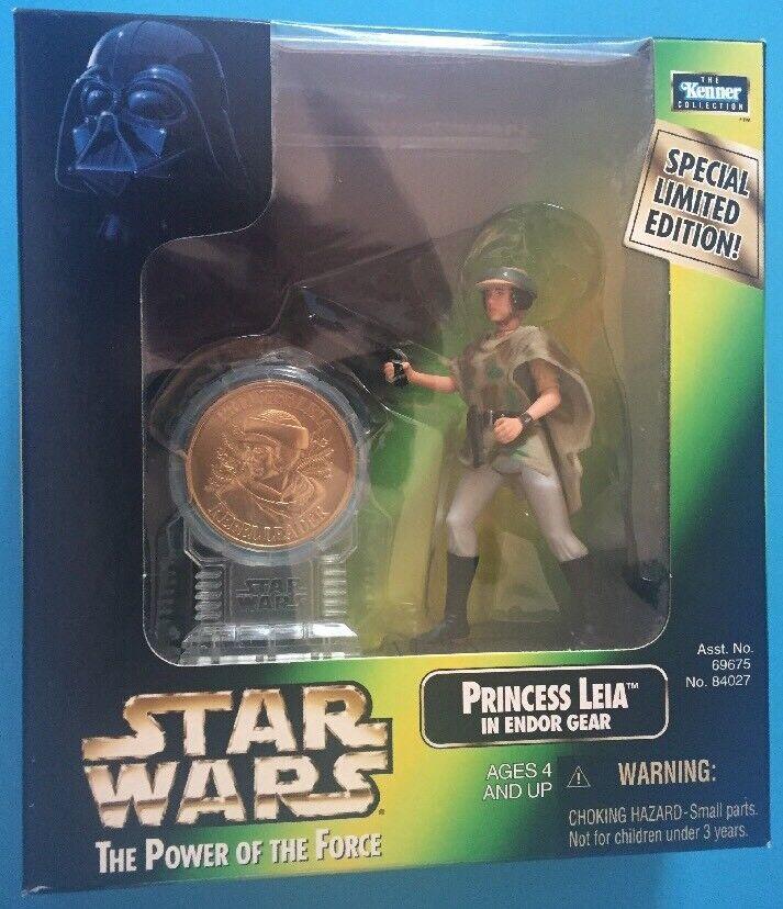 Kenner Star Wars Princess Leia Organa - Endor Poncho Action Figure